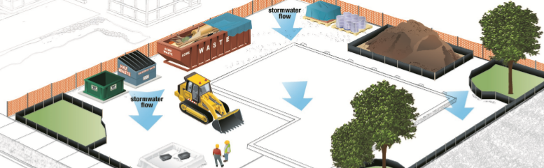 Best management practices examples for small residential construction sites