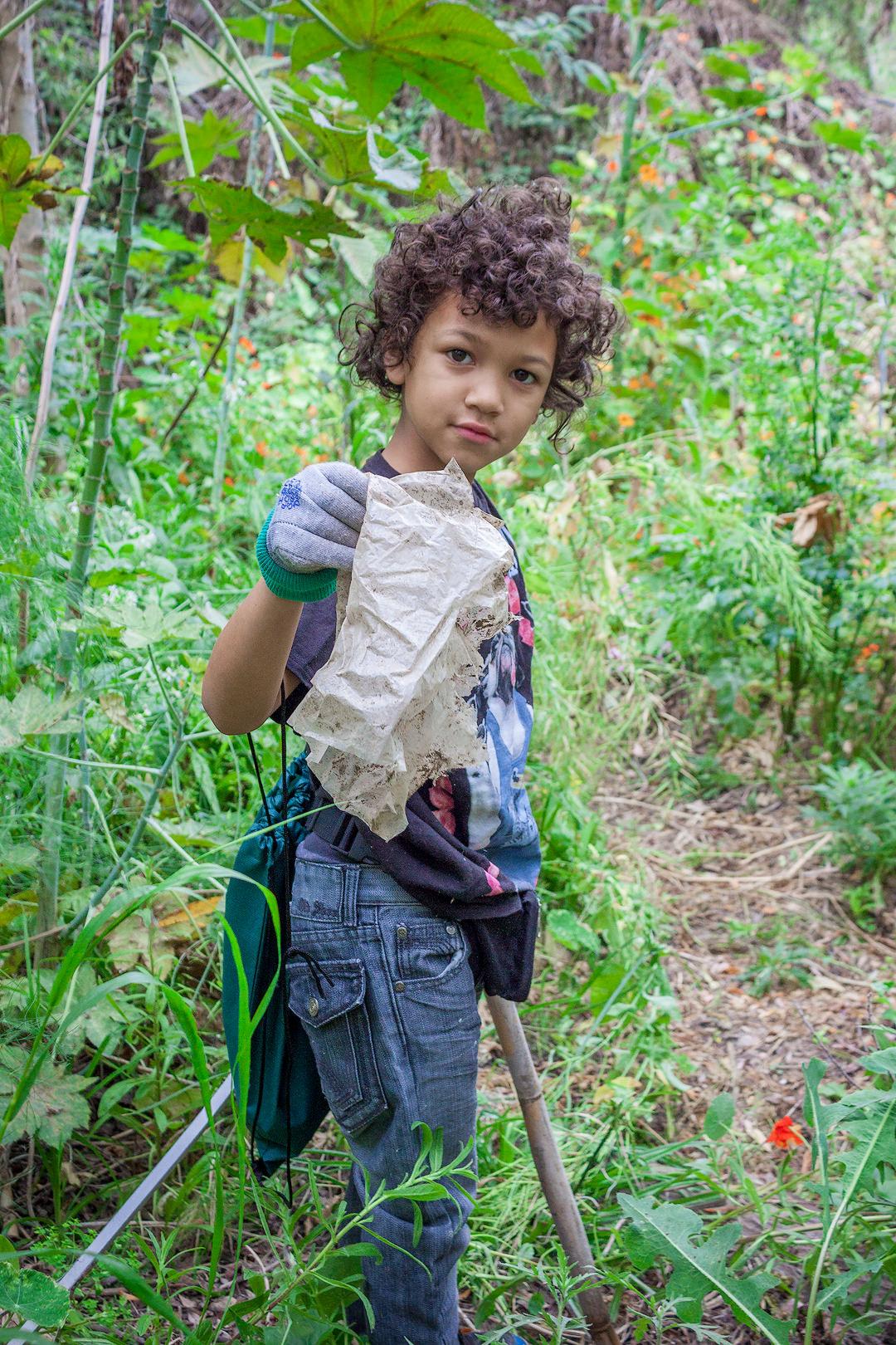 River Clean Up Boy