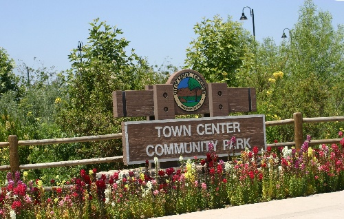 Town Center Community Park Sign