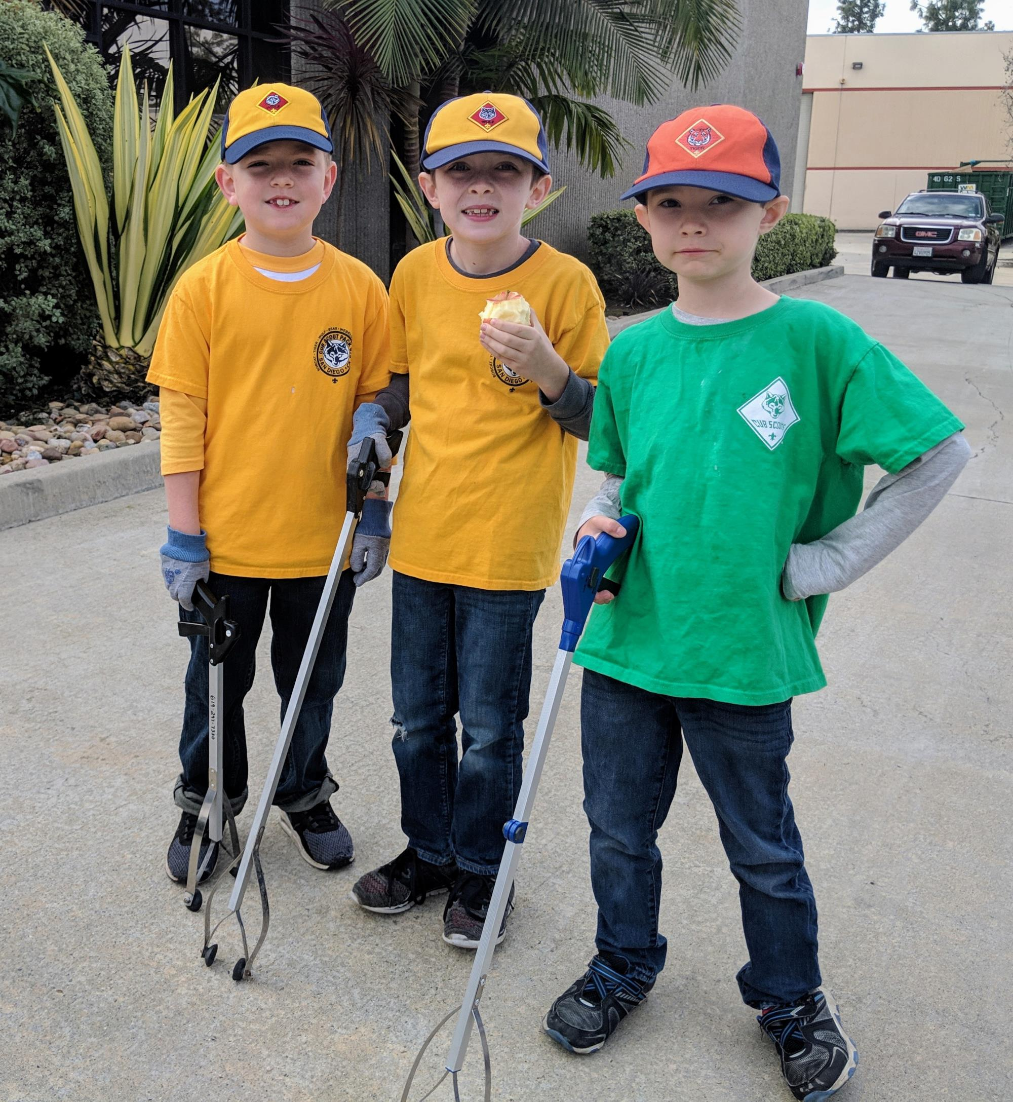 River Clean Up Scouts